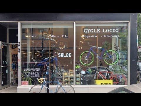 Cycle Logic Bike Shop In Montreal