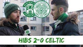Hibs 2-0 Celtic | Full time Reaction
