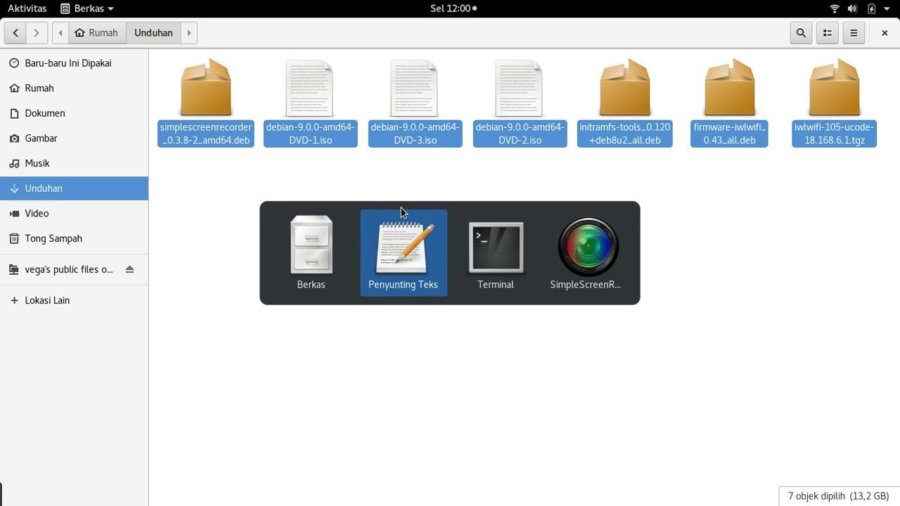 cara menginstall dan mengonfigurasi file server (samba) pada Debian (9)