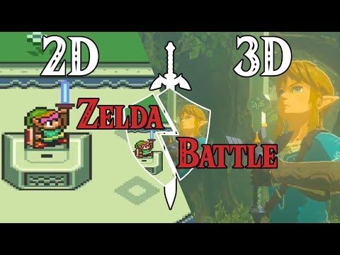 ZELDA 2D vs 3D | #ZeldaBattle