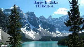 Tehmina  Nature & Naturaleza - Happy Birthday