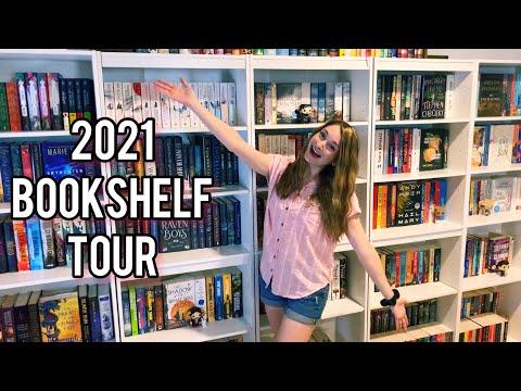 2021 BOOKSHELF TOUR