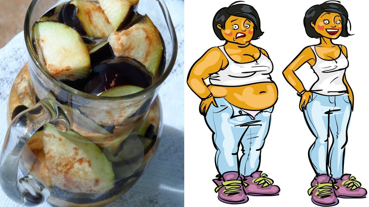 How to Lose Belly Fat with Eggplant Water