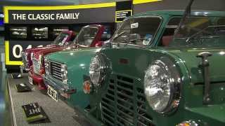 MINI exhibition Austin MINI Moke, MINI Clubman, MINI Cabrio, MINI Shorty | AutoMotoTV