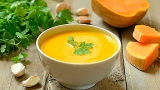 Тыквенный суп-пюре | Вкусный крем суп из тыквы!