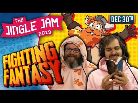 JINGLE JAM 2019 DAY 30 - FIGHTING FANTASY! - 30/12/19