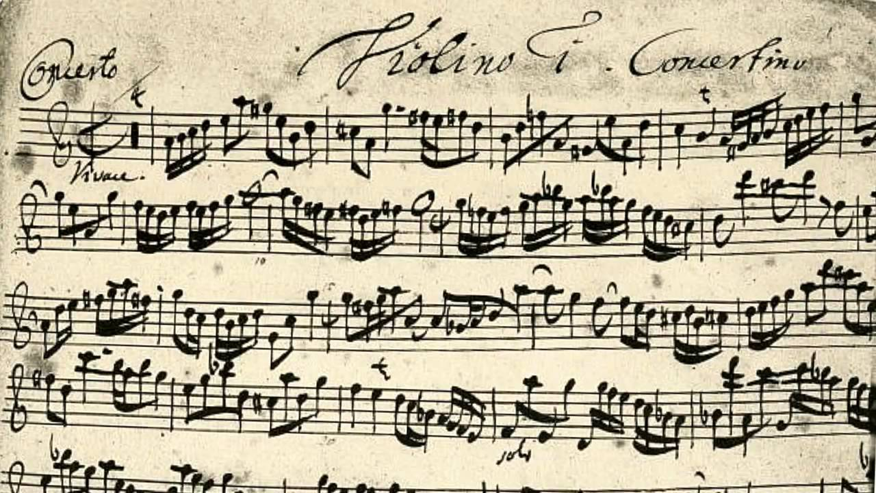 Bach - Concerto for two violins BWV 1043 (on Period Instruments) - YouTube