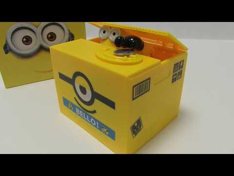 Minions Piggy Bank Saving Box