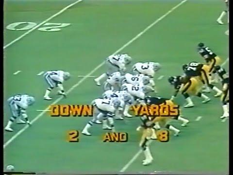 1977 Week 10 Dallas at Pittsburgh