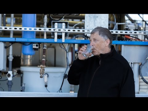 Innovation Of The Day: Bill Gates Drinks Water