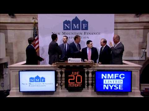20 June 2011 New Mountain Financial Corp. rings the NYSE Opening Bell