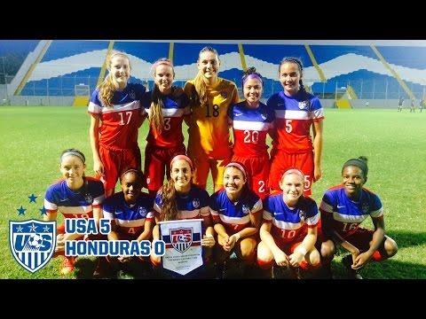 U-20 WNT vs. Honduras: Highlights - Sept. 23, 2015