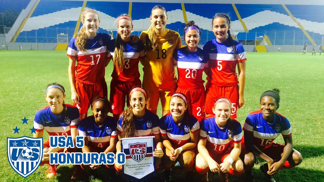 U-20 WNT vs. Honduras: Highlig...