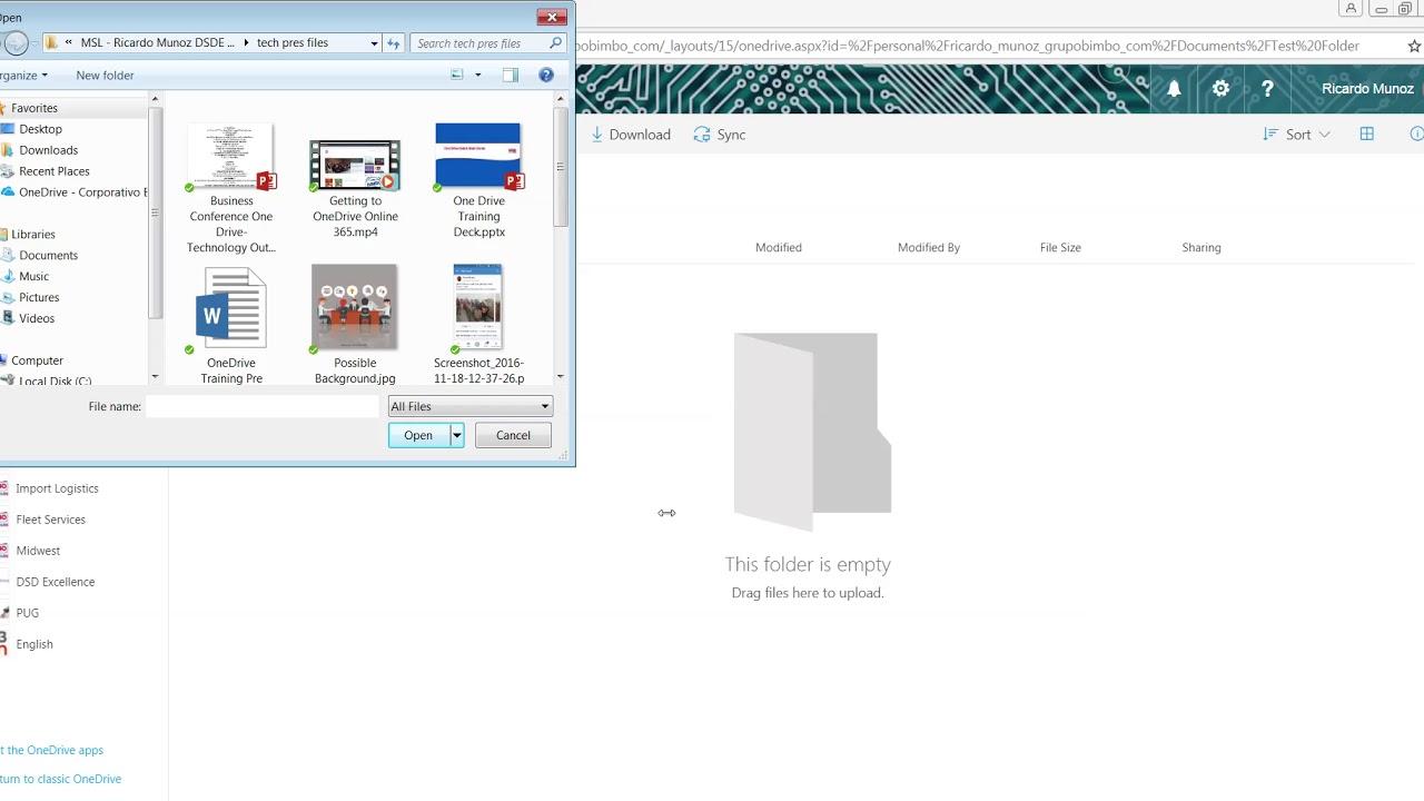 how do i upload a folder to facebook