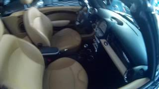 mini cooper cabrio mini 1 6 16v pelle tagliandata pack chrome