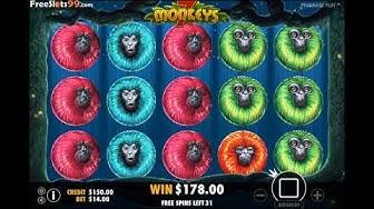 7 Monkeys Slot BONUS GAME