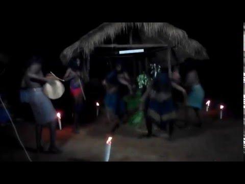 KIRI KORAHA DANCE from VEDDA PEOPLE in DAMBANA.