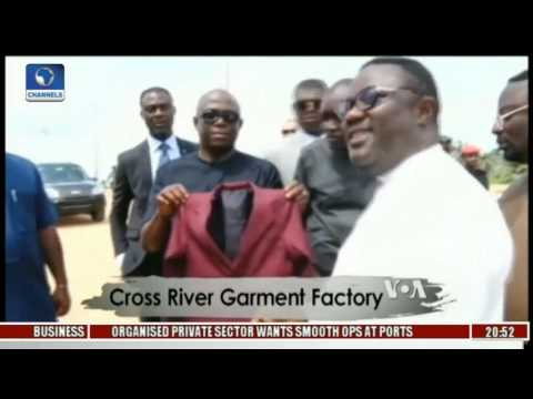 Africa 54: Focus On Cross River Garment Factory