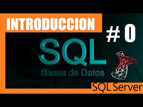 Cursos SQL SERVER #0 | Introducción | Manejo de base de datos