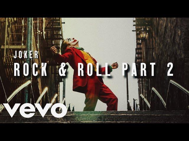 Joker Music Video | Rock & Roll Part 2 - Gary Glitter #1