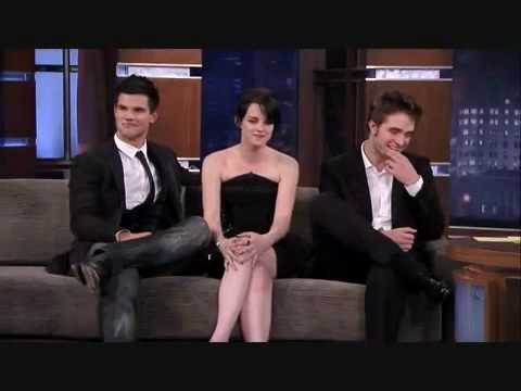 Interview - Kristen Stewart And Robert Pattinson (Part 1)