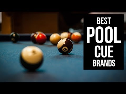 top 5 best pool cue brands of 2017 - youtube