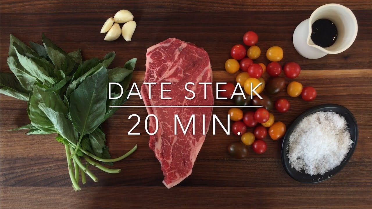 romantic date night steak dinner for two recipe ready in 20 minutes