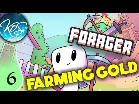Forager Ep 6: FARMING GOLD - Final/Steam Release!!! - Let's Play, Gameplay