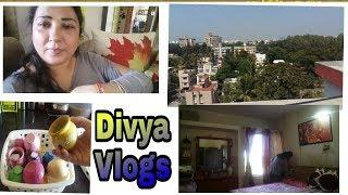 Mere terrace se dekho kya dikhta ha??🤗/Divya Vlogs /indian vlogger/india mom