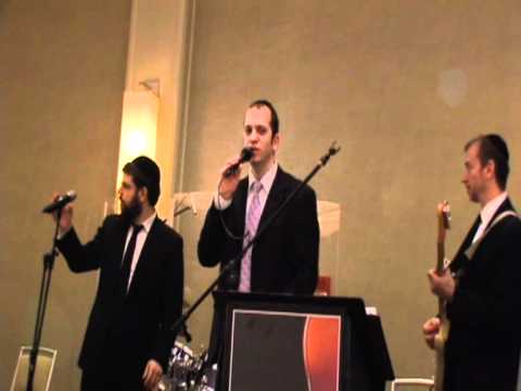 Shloime Dachs, Benny Friedman and AY Karsh singing Yaakov Shwekey's Meheira