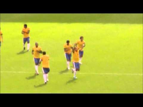 Neymar goal Brazil vs Belarus
