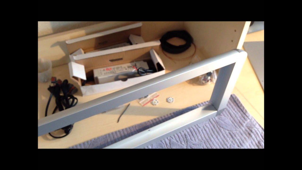 mit diy led lampe projekt del 2 youtube. Black Bedroom Furniture Sets. Home Design Ideas
