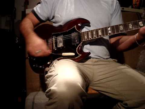 Vintage 1968 Gibson SG Standard (Angus Young Model) Travel Video