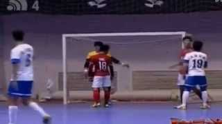 Gol Kedua Bambang Bayu Saptaji di Liga Futsal Tiongkok
