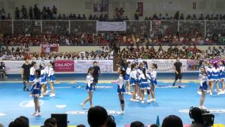 Chiang Kai Shek College WNCAA Cheerleading Competition 2014