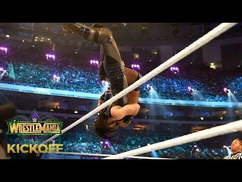 Mustafa Ali wows John Cena with a crushing Spanish Fly to Cedric Alexander: WrestleMania 34 Kickoff