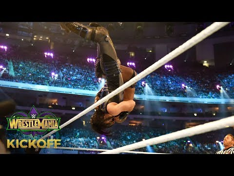 Mustafa Ali wows John Cena with a crushing Spanish Fly to Cedric Alexander: WrestleMania 34 Kickoff