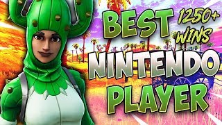 Fortnite Best Nintendo Switch Player 1250+ Wins/ Floor is LAVA SOLOS!