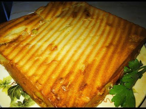 Вам нужно его приготовить.Вкусный и нежный Заливной пирог с картофелем и рыбной консервой