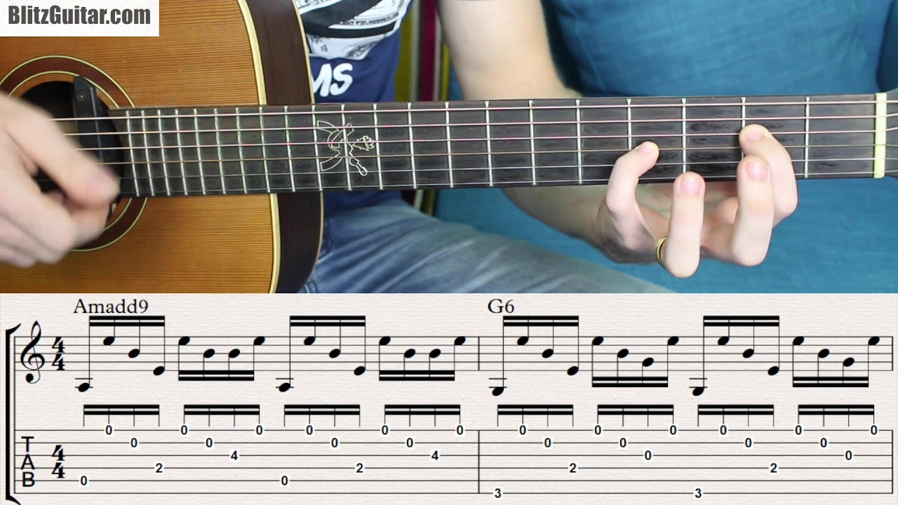 Fingerstyle Spanish Rumba For Beginners Easy Chords In A Minor
