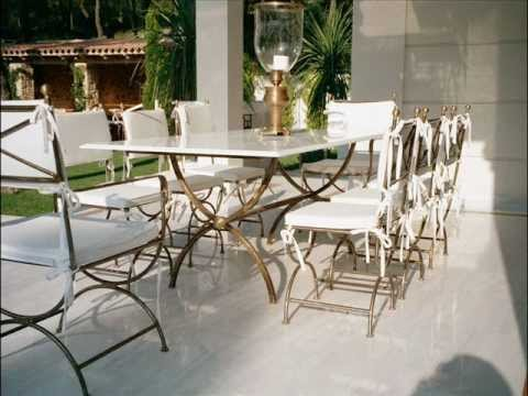 High Quality CLASSY Outdoor Furniture FRANCE Cast Iron Furniture FRANCE