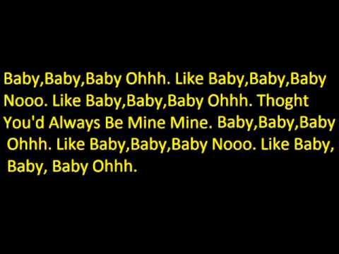 BaJustin BieberLyrics