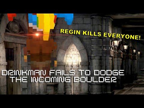 Regin Kills Everyone | Barony with Friends! |