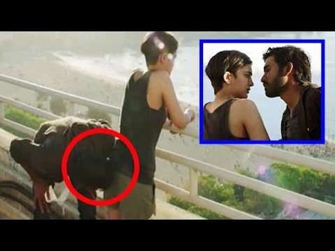 OMG! Dhanush KISSES Akshara Haasan On Her Private Assets | Shamitab