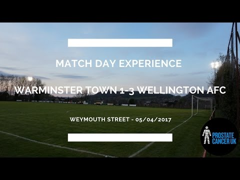 Groundhop at Weymouth Street - Warminster Town vs. Wellington AFC - WHAT A GROUND