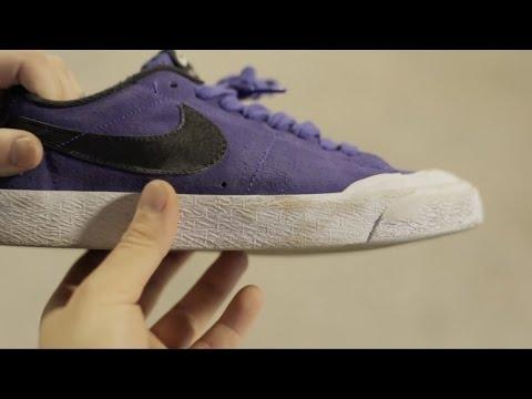 100 Skateboard Trick Wear Test in the Nike SB Blazer Low XT with Ben  Raybourn