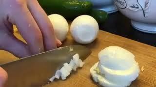 Диетический Легкий салат с говядиной