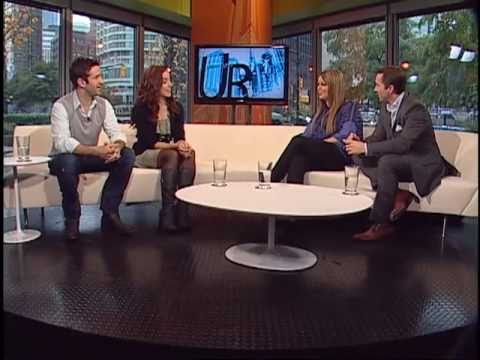 Erin Karpluk & Adam Fergus on UR