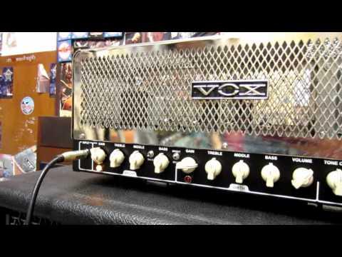 Vox Night Train NT50 Amp Clean Sound