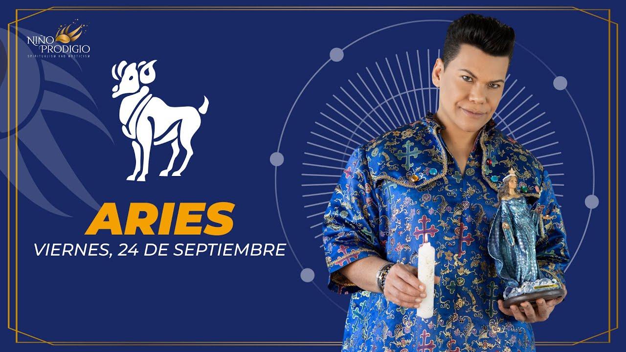 ♈ ARIES, Septiembre 24 | Tendrás un contacto positivo con una persona de otra región